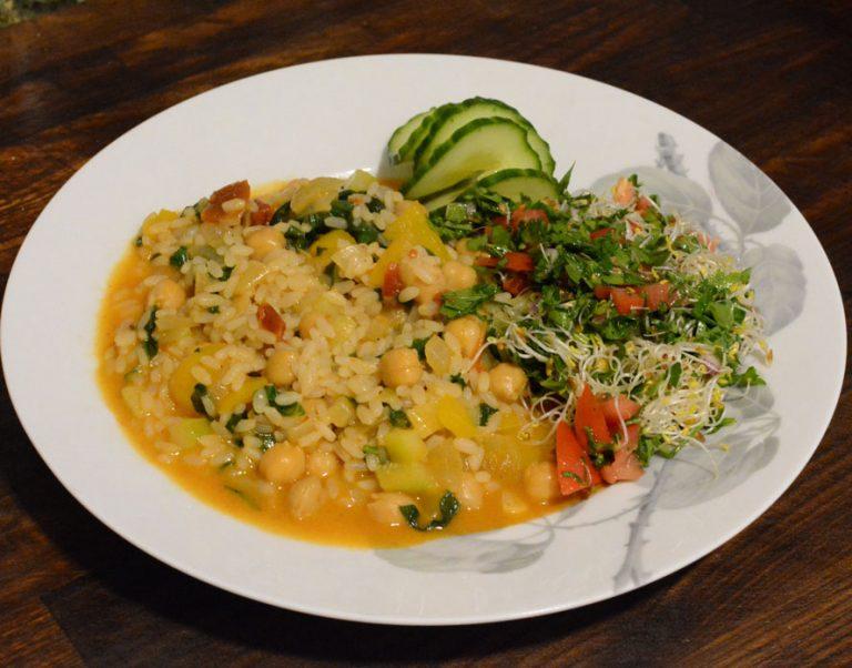 vegetarisk risotto